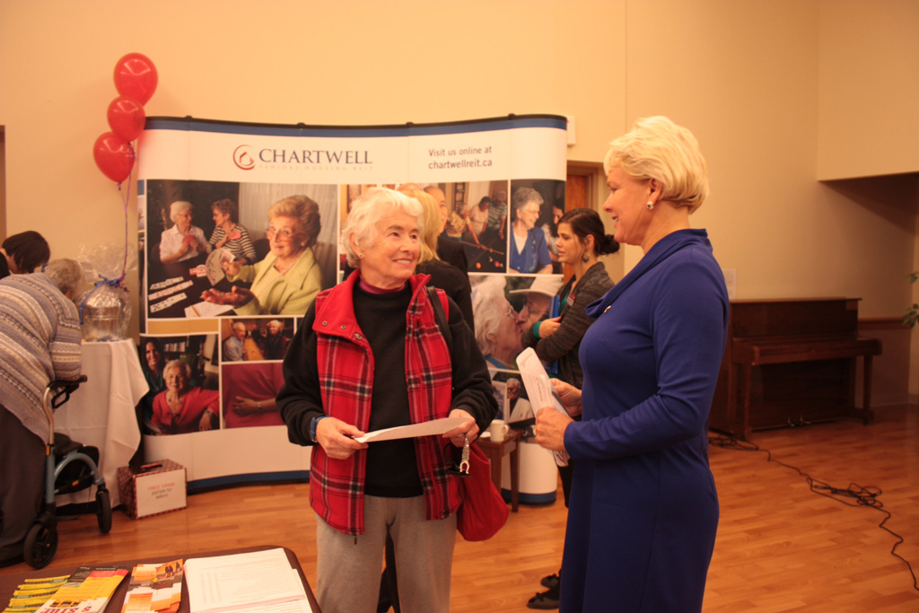 Seniors enjoyed the Activity Fair @ Pembroke's Miramichi Lodge