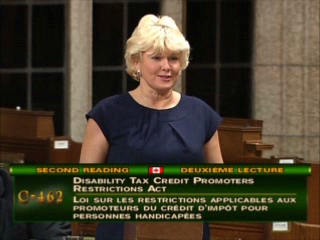 Cheryl Gallant in the House of Commons on Bill C-462