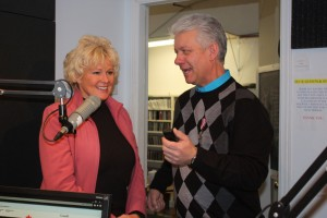 Ottawa Valley entertainer, Dai Bassett, was presented with the QEII Diamond Jubilee medal at Heritage Valley Radio