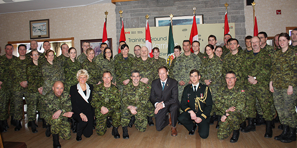 Cheryl-Gallant-and-Minister-Mackay-at-CFB-Petawawa-March-13th600