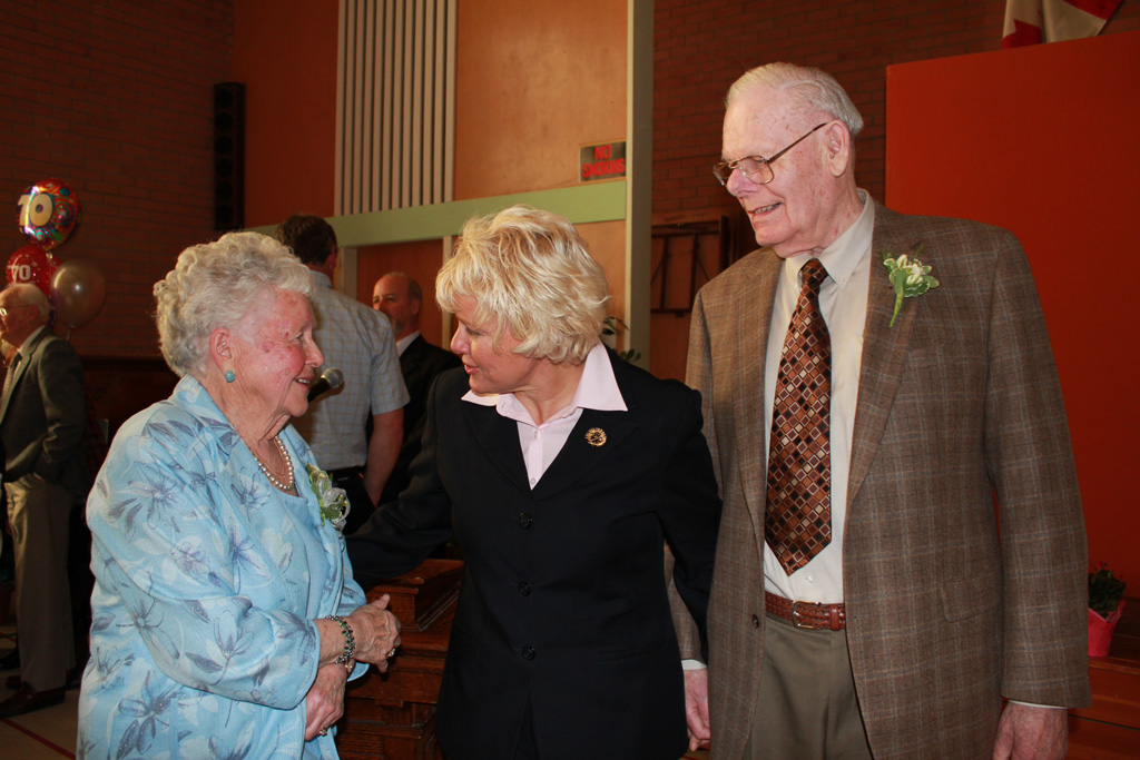 Mack & Marion Fraser share the secret to 70 years of a happy marriage!