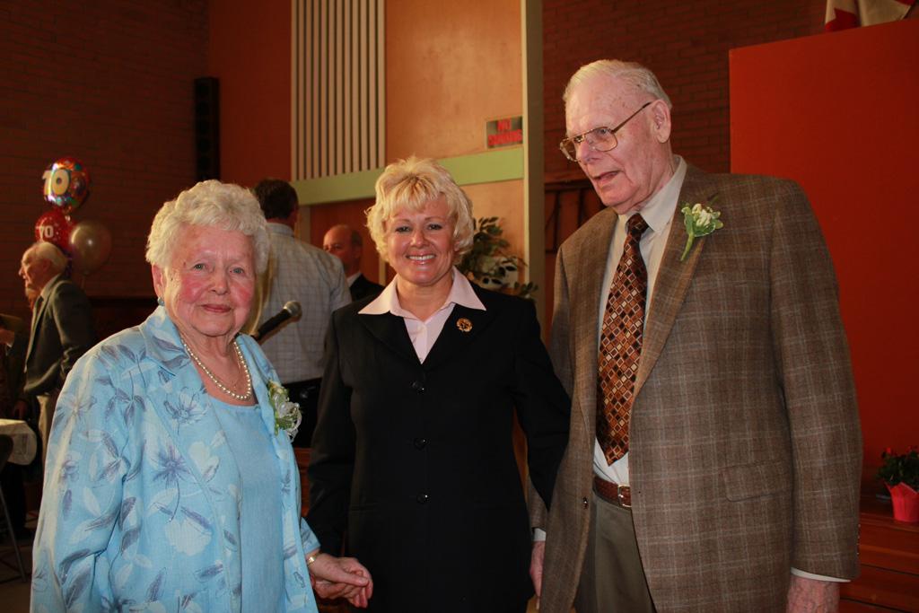Mack & Marion Fraser's 70th Wedding Anniversary