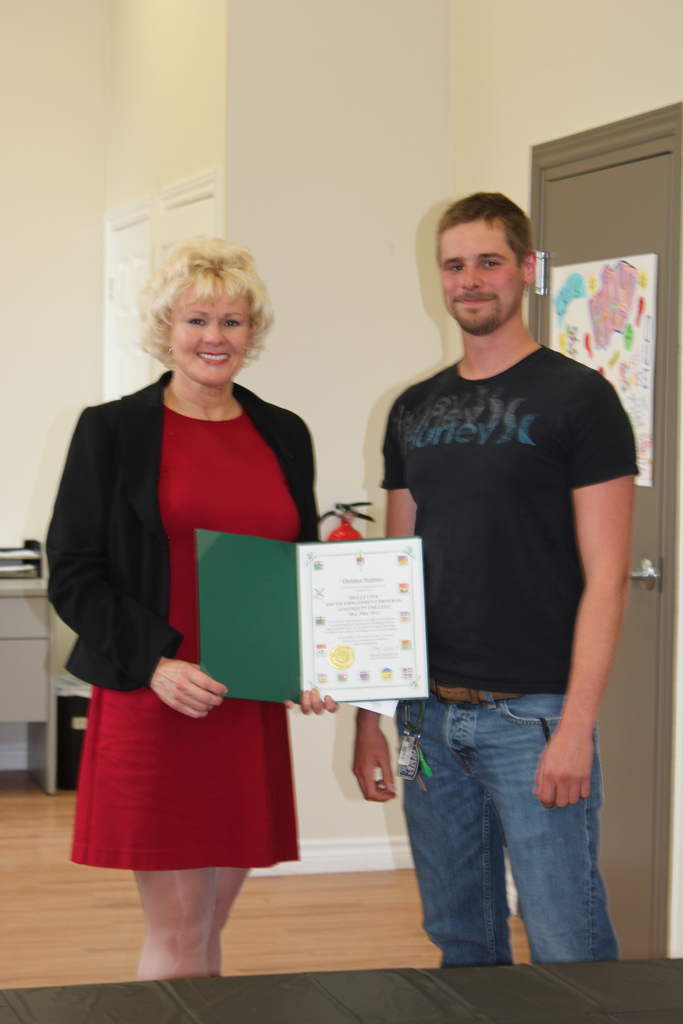 Renfrew Youth Skills Link Grads (9)