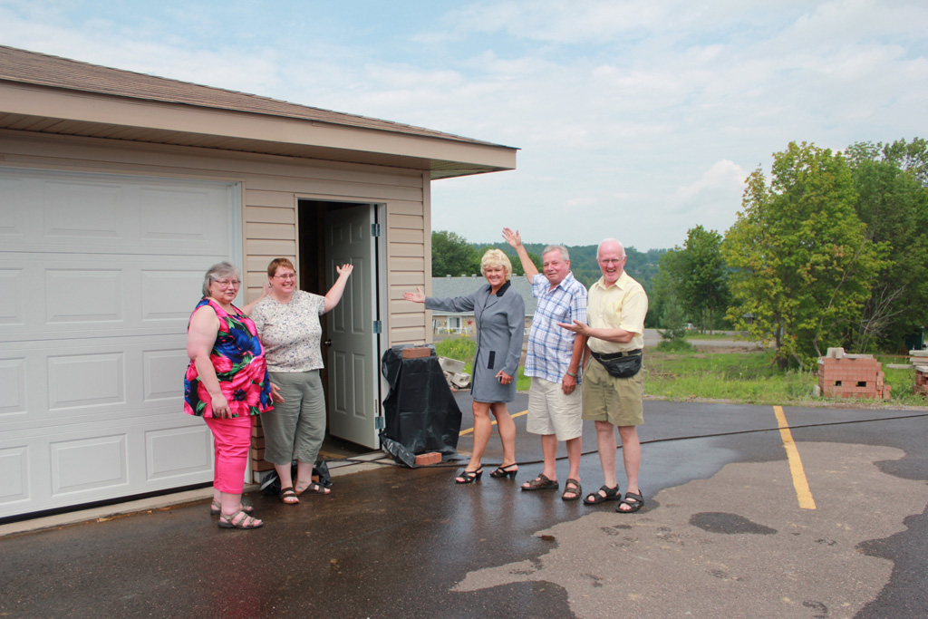 The Eganville Area Seniors Support rec d federal New Horizons For Seniors Funding to expand storage so members can participate in a wider range of sports