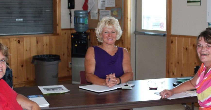 Cheryl Gallant at Whitney Constituency Clinic