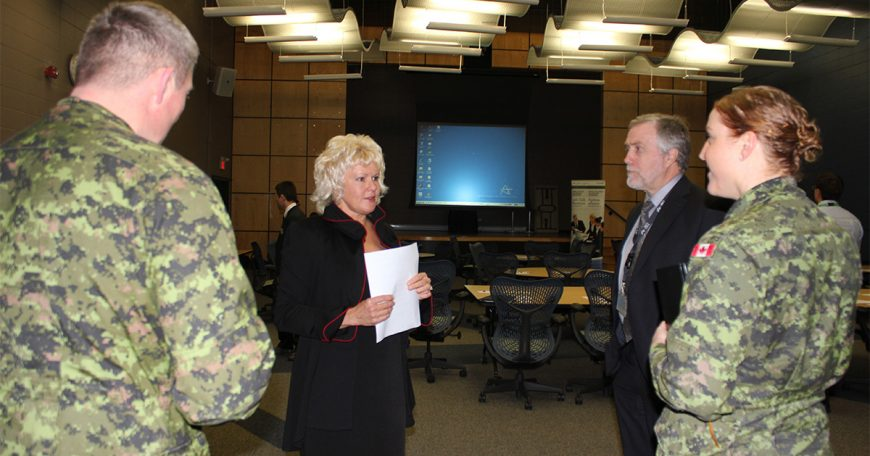 MP-Gallant-with-Dr-Walker-Sgt-Major-Purchase-and-Mjr-Summerland