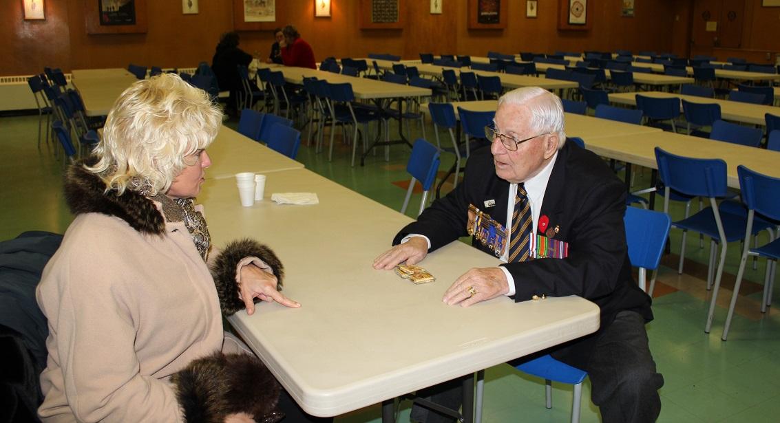 Renfrew Veteran Lawrence Guest with Cheryl