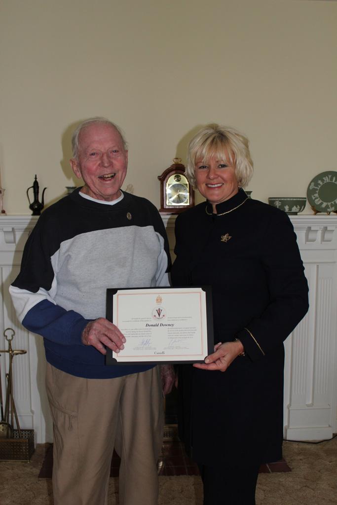Donald Downey of Eganville