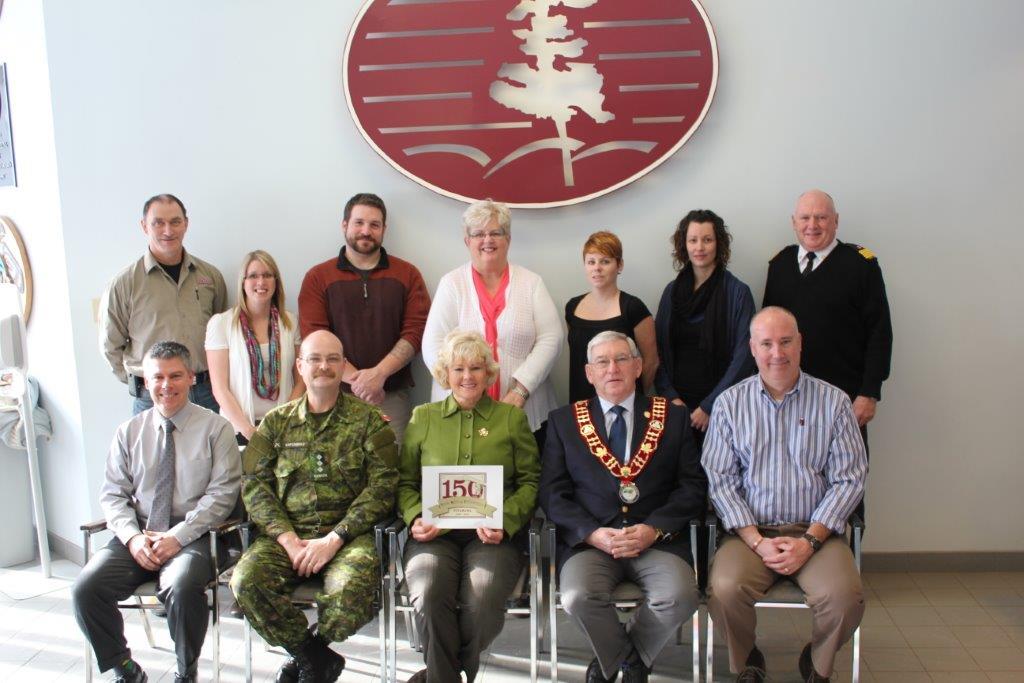 MP Gallant Brings Funding for Petawawa's 150th Anniversary
