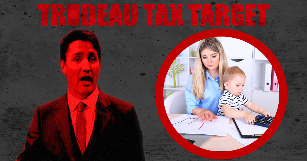 Trudeau-Tax-Targets Women Entrepreneurs