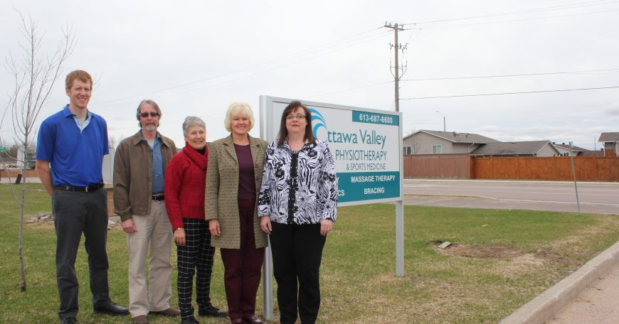 NEWS RELEASE MP Gallant Brings Accessibility Funding to Petawawa