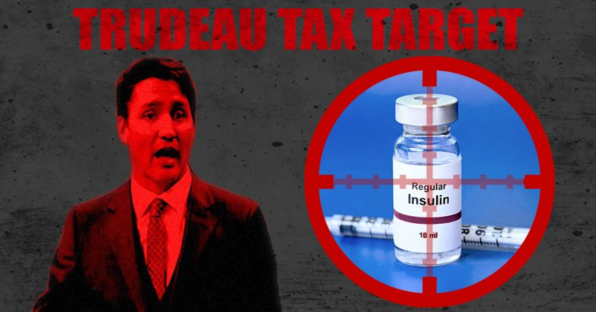 Trudeau-Tax-targets-Diabetes