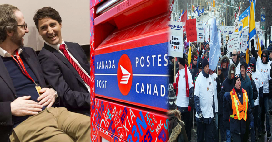 Canada Post Collage