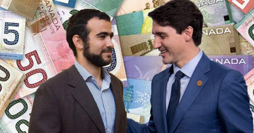 omar khadr and trudeau money 1200