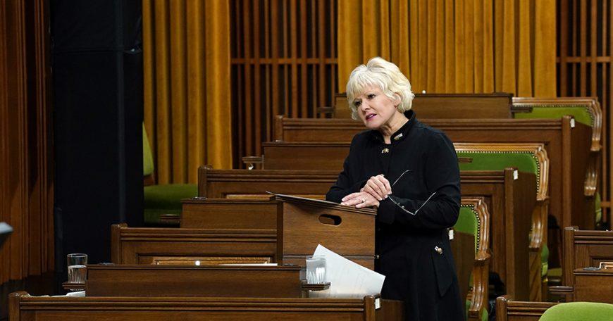MP Gallant in QP March 8 2021