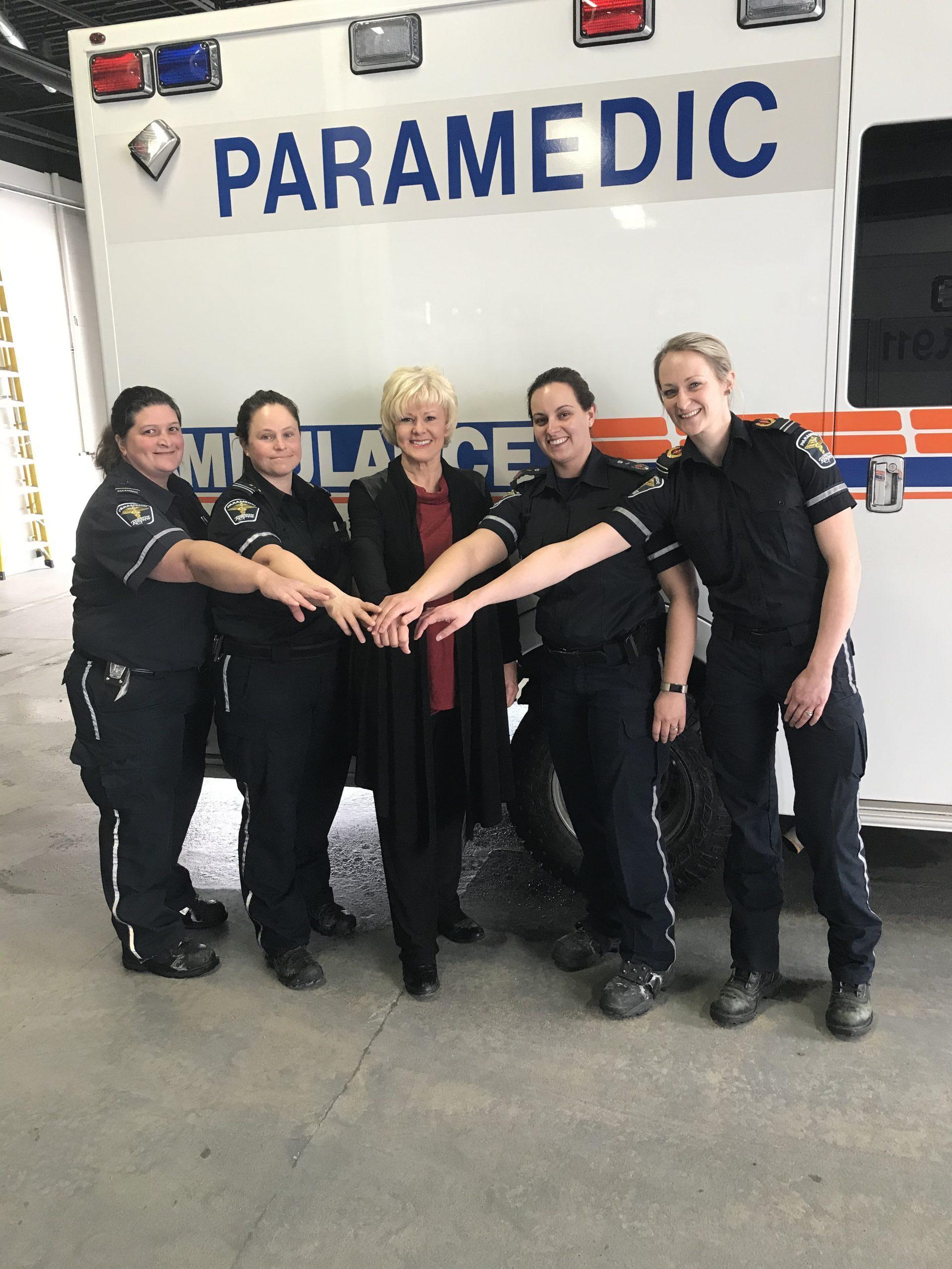 Honouring Renfrew County Paramedics